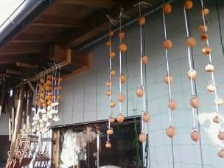 マイティハウジングのブログ-干し柿