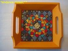 ブリュターニュのケルティック文化をモザイクアートでお届けします。-Art de la table015