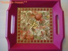 ブリュターニュのケルティック文化をモザイクアートでお届けします。-Art de la table013