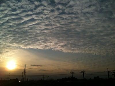 散歩のぢかん-夕日