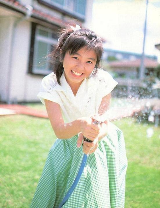渡辺満里奈さんのポートレート