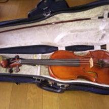 ヴァイオリンが来たよ