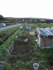 耕作放棄地をショベル1本で畑に開拓!週2日で10時間の野菜栽培の記録 byウッチー-111121今日の農作業の出来栄え04