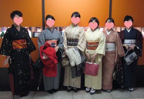 $東京で着物ライフを楽しむ会 ~東京きものライフ~-集合写真