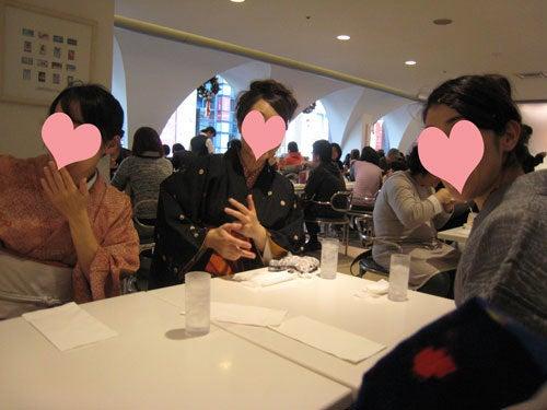 $東京で着物ライフを楽しむ会 ~東京きものライフ~-驚く3人(笑)
