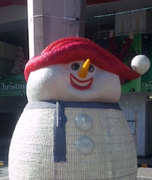 ムシパンギャルズ-阪急茨木市駅クリスマス