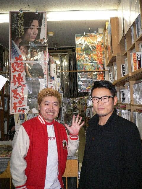 ヴィンテージ店長のブログ-須藤元気さん、吉田豪さん