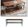 コーヒーテーブル 【Knotantiquesシリーズ】の画像