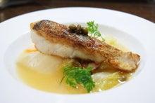 食べて飲んで観て読んだコト+レストラン・カザマ-真鱈のムニエル