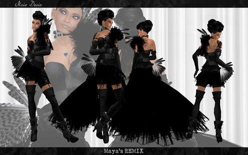 Maya's style / Second Life Fashion- ノワールデジール