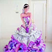 ◆結婚式カラードレス…