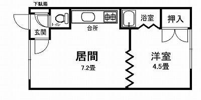 FMハイツ103間取