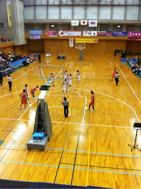 WJBLin関市総合体育館! | BALLE...