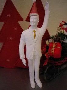 できたてロールケーキのお店 Lump(ルンプ)のブログ-2011クリスマス サラリーマン君