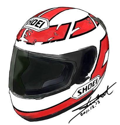 レプリカヘルメットシリーズ第五弾 油冷ユニット 3型カタナ マニア