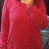 &Love スヌード付きニットチュニックの画像