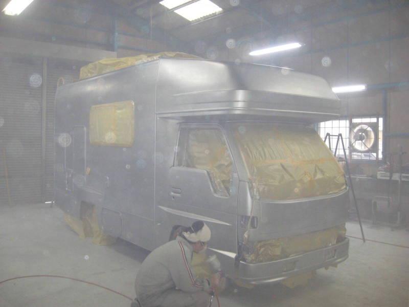京都の女職人が書く車のブログ☆★-塗装 自動車