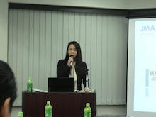 M&A市場を創る女社長のブログ(清水美帆ブログ)-セミナー風景
