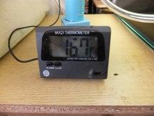 $ヒバリの金魚と共に歩む旅-温度計