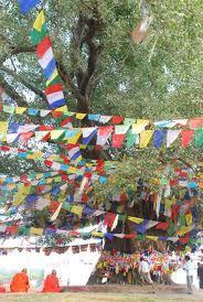 夫婦世界旅行-妻編-ネパールの五色旗