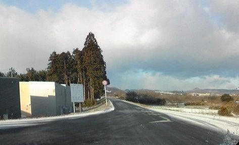 マイティハウジングのブログ-仙台今年初積雪を観測