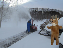 pepeのブログ-除雪