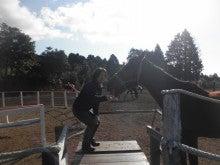馬を愛する男のブログ Ebosikogen Horse Park-りんご大好き