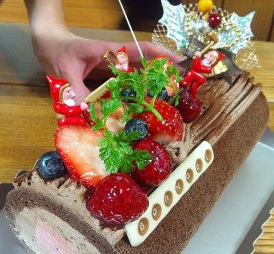 $ときどきグルメになりたくなるブログ-2011年クリスマスケーキは大潟村ココティエ3