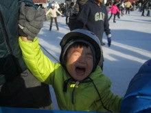 二児のママになっちゃった!~のんびり子育て日記~-初!スケート2