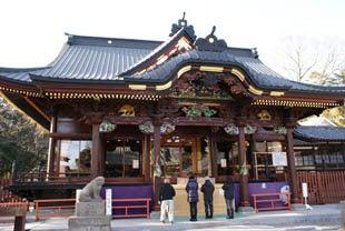 埼玉おもしろマップ-妻沼聖天山の拝殿