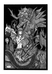 SAWSIN'S NIGHTMARE12Beast Demonsの記事(15件)魔軍の蛇たち魔縁の龍たち魔幻の兎たち堕天の猫たち魔牛の宴地獄の鼠たち邪艶なる妖猪の女王地獄に堕ちた魔犬ども夜梟王地獄の鳥魔暗き深淵の猿たち闇に棲む猿たち黒羊王サバトの黒羊魔想の虎たち