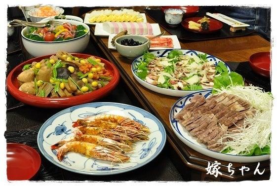 2012年嫁ちゃん実家とのお正月献立!