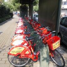 レンタル自転車@中国