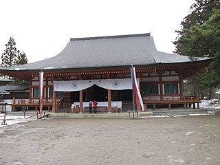 晴れのち曇り時々Ameブロ-毛越寺本堂