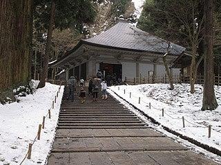 晴れのち曇り時々Ameブロ-中尊寺金色堂
