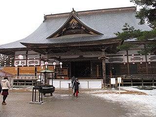 晴れのち曇り時々Ameブロ-中尊寺本堂