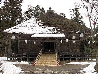 晴れのち曇り時々Ameブロ-毛越寺常行堂