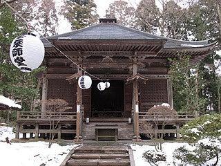 晴れのち曇り時々Ameブロ-中尊寺峰薬師堂