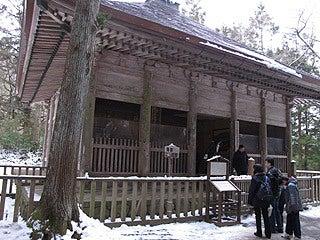 晴れのち曇り時々Ameブロ-中尊寺旧覆堂