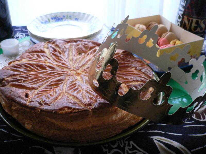 フランス料理教室 Atelier Belle Table ~気軽に楽しくお料理&テーブルコーディネート~-ガレット・デ・ロワ