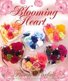 $フローラルパフェ(Floral Parfait)~プリザーブドフラワー癒しのプティサロン~-ブルーミングハート表紙