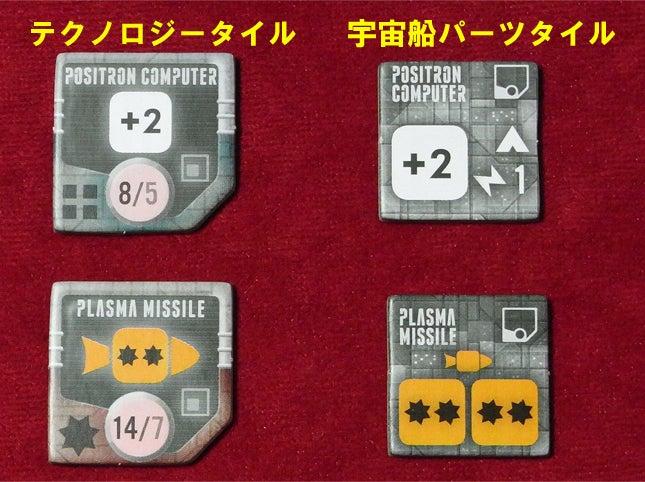 risaのボードゲームレポート-Ecl_テクノ&パーツタイル