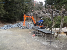 楽園管理人アツシの絵日記-八曽自然休養林 改修工事02