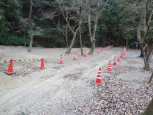 楽園管理人アツシの絵日記-八曽自然休養林 改修工事