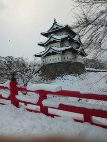 水出税理士事務所のブログ-冬の弘前城