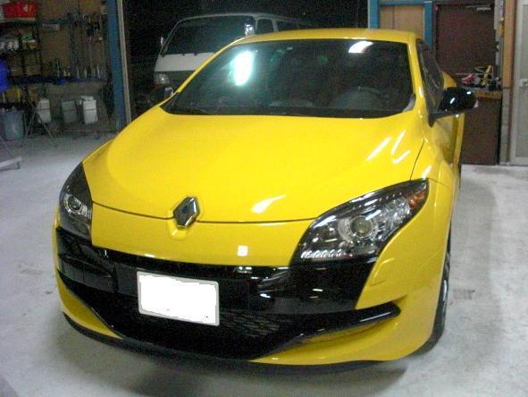 京都の女職人が書く車のブログ☆★-黄色 ルノー