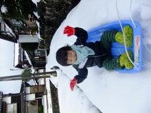 りょーじぃのブログ-鳥取雪遊び2
