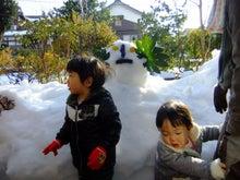 りょーじぃのブログ-鳥取雪遊び1