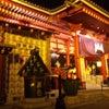 夜の浅草寺は、なかなか綺麗の画像