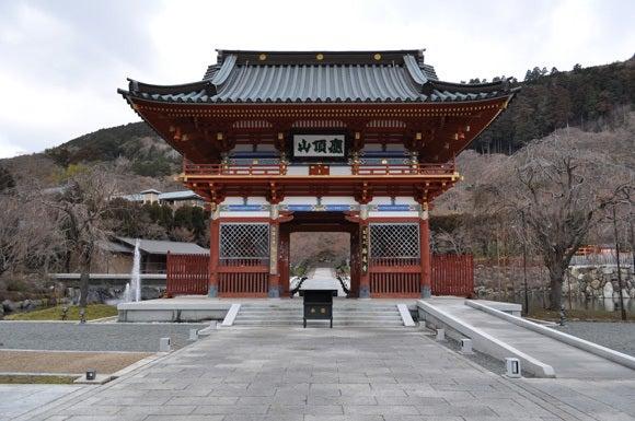 茶々吉とデジ一 のんびり旅-120126_勝尾寺山門
